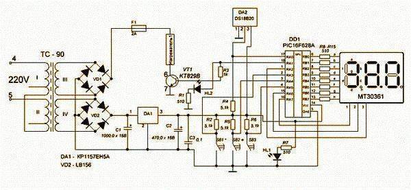 Датчик для инкубатора своими руками фото 528