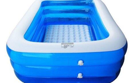 Надувной бассейн для всей семьи, сделанный в Китае
