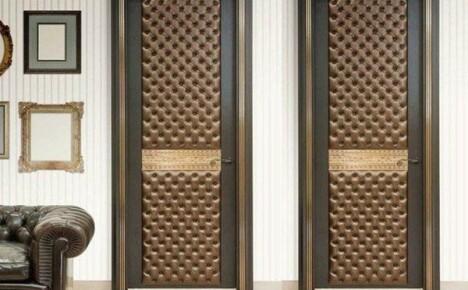 Обивка дверей – новый образ «лица» дома