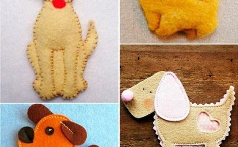 Делаем своими руками елочную игрушку собачку