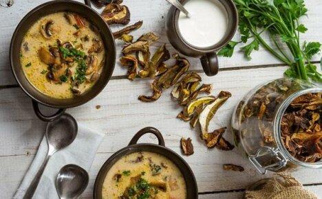 Секреты приготовления грибного супа из заготовленных сушеных грибов