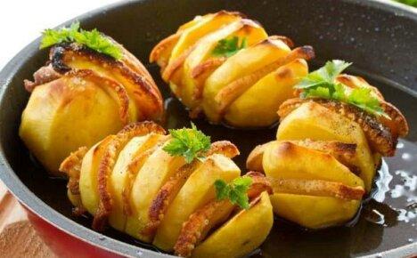 Картофель с беконом в духовке — вкусные рецепты приготовления