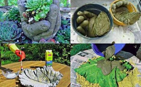 Оригинальные поделки для декорирование сада