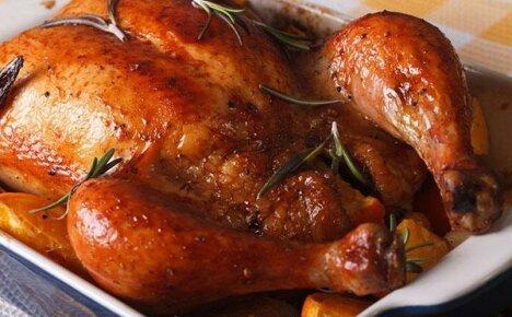 Как правильно запечь вкусную курицу в духовке