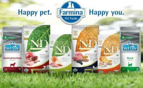 Качественный и питательный корм для собак и кошек Фармина