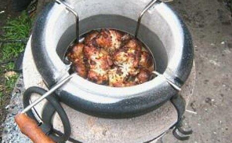 Установите на даче керамическую печь Тандыр