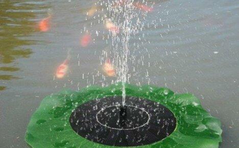 Фонтанчик для сада на солнечной батарее, сделанный в Китае