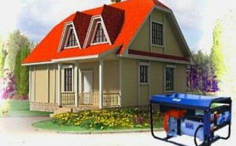 Как выбрать генератор для дачи и дома?