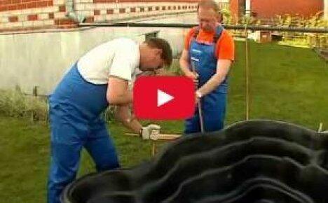 Как сделать пруд своими руками (видео)