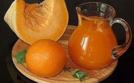 Необычайно вкусный и полезный тыквенный сок с апельсинами на зиму