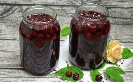 Запасы на зиму: вишня в собственном соку