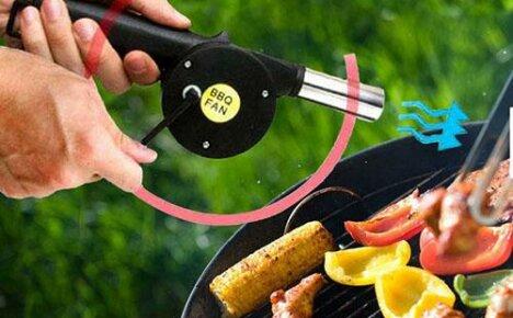 Вентилятор для приготовления шашлыка, сделанный в Китае