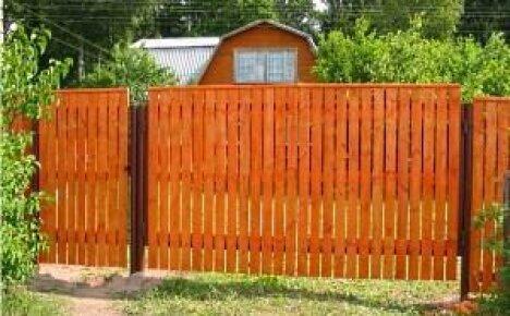 Как сделать забор для дачи своими руками?