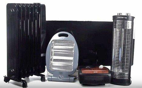 Виды электрических обогревателей