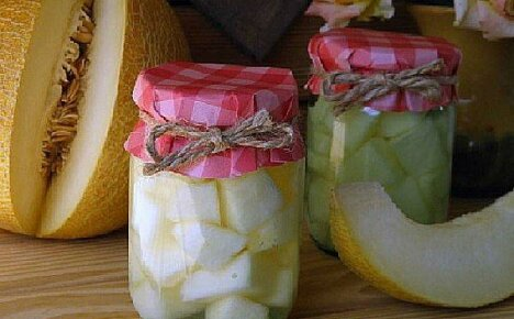Маринованная дыня на зиму или что можно сделать из недозрелых плодов