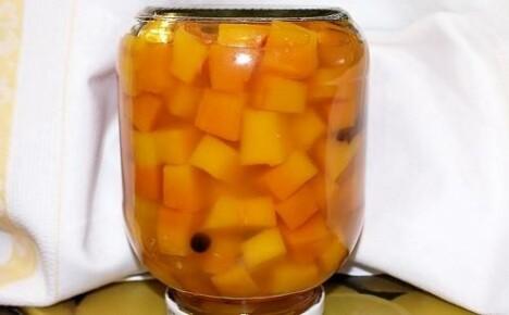 Оригинальный компот из тыквы на зиму
