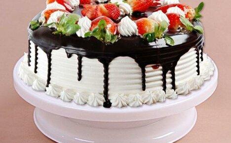 Вращающаяся подставка для декорирования тортов из Китая