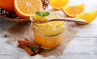 Оригинальное апельсиновое варенье со специями и миндалем