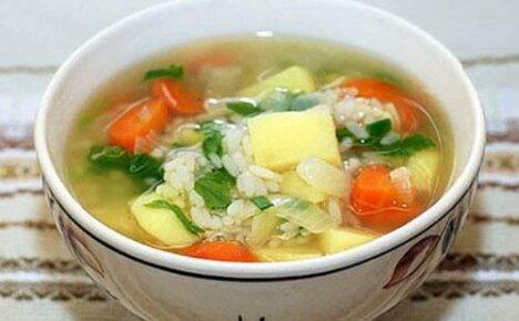 Как научиться готовить наваристый суп с рисом, картофелем и с мясом