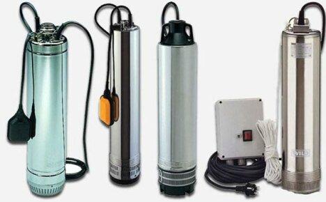 Как правильно выбрать насосы для скважины на воду