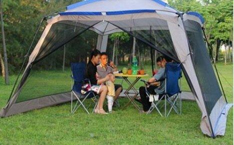 Открытая палатка (тент) для дачи из Китая