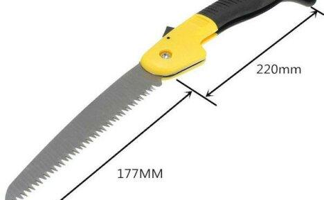 Садовая ножовка из Китая