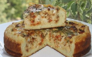 Бабушкин деревенский пирог – просто и вкусно!