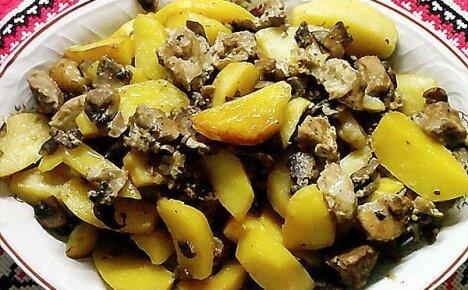 Пять лучших рецептов приготовления картошки с грибами