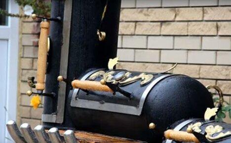 Сборка установки для барбекю из газовых баллонов