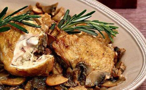 Изысканное сочетание вкуса – курица с грибами