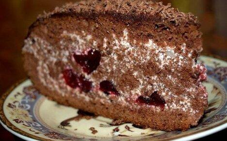 Приготовим к празднику торт «Пьяная вишня»