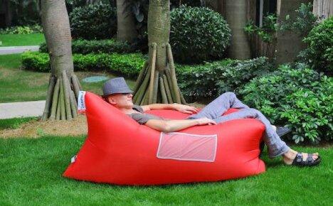 Надувной диван из Китая для отдыха на даче