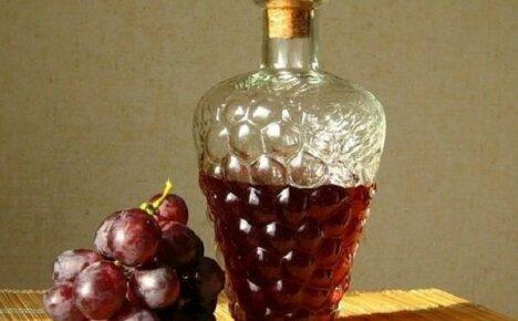 Делаем домашний виноградный уксус