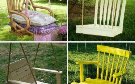 Как сделать качели своими руками: простые модели из деревянных поддонов и стула