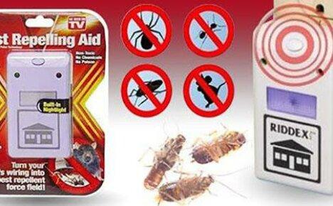 Электрический отпугиватель грызунов и насекомых, сделанный в Китае