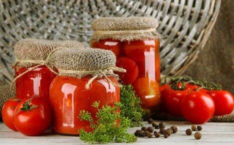 Обязательно посадите на участке консервные сорта помидор