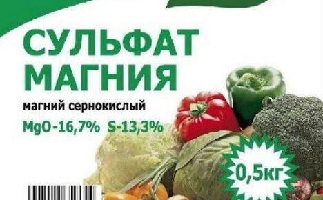 Удобрение сульфат магния: особенности применения для томатов