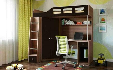 Как выбрать кровать чердак для детей
