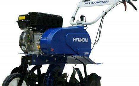 Почему сельчане охотно покупают культиватор Hyundai