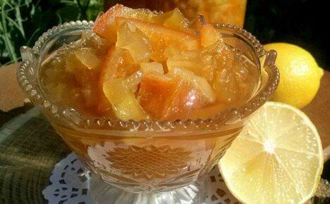 Необычная комбинация: варенье из кабачков с добавлением лимона и апельсина
