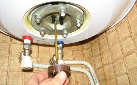 Ремонт водонагревателей Аристон с электрическим и газовым нагревом