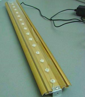Светодиодный светильник для рассады сделанный вручную