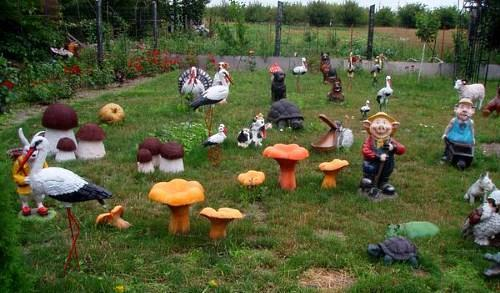 Украшаем сад-огород своими руками фото