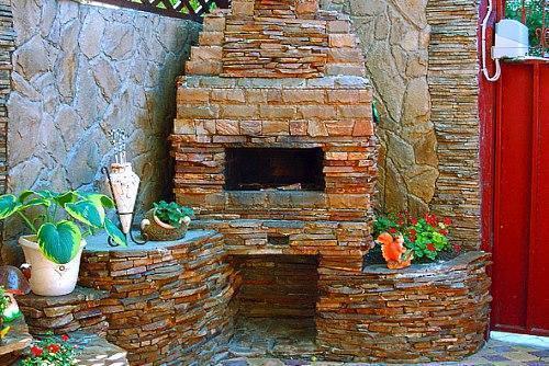 мангал из камня