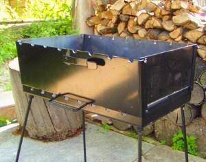 барбекю для дачи из железа фото