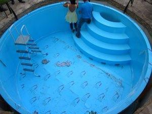 Фото пластикового бассейна