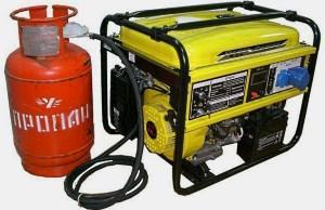 Генератор на газу для дома