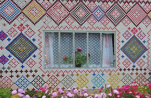 Мозайка из крышек