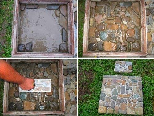 плитка из камней
