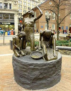 Памятник Великому Картофельному Голоду